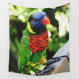 Colorful Bird Wall Tapestry