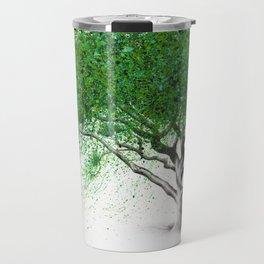 Green Breeze Tree Travel Mug