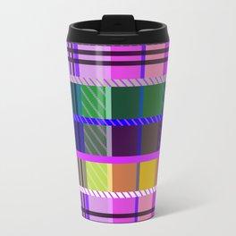 Multicolor tartan Travel Mug