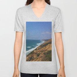 Torrey Pines California Unisex V-Neck