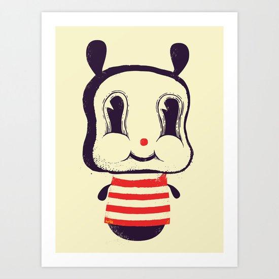 Cute bunny Art Print
