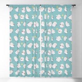 Baby Barn Owls Blackout Curtain