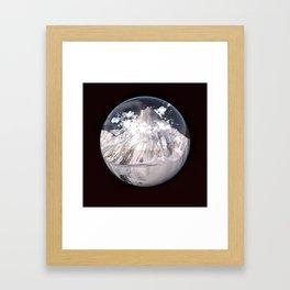 K2 Mountain Bubble Framed Art Print