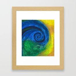 Abstract Poetic Framed Art Print