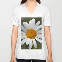 lonely V-neck T-shirts featuring Lonely by IowaShots