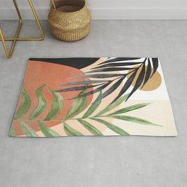 Abstract Tropical Art VI Rug