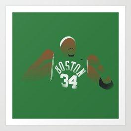 NBA Players   Paul Pierce Art Print