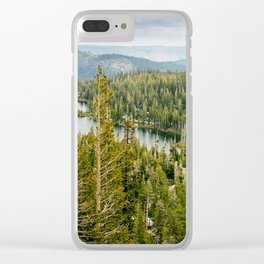 Twin Lakes, Mammoth Lakes, California Clear iPhone Case