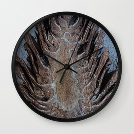 Dancing Pine Wall Clock