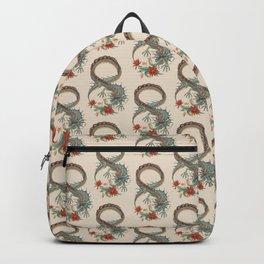 Botanical Flower Dragon 8 Backpack