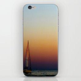 Single Sailboat iPhone Skin