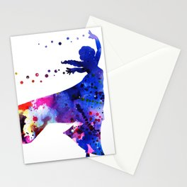 Elsa the Snow Queen II Stationery Cards