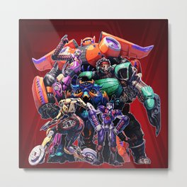 robot hero Metal Print