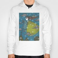 archan nair Hoodies featuring The Sea Voyage by Judith Clay