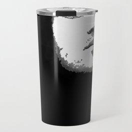 john frusciante black and grey popart Travel Mug