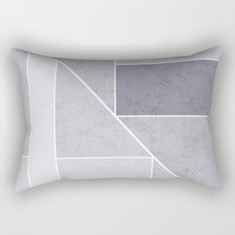 Simple geometric pattern. 3 Rectangular Pillow