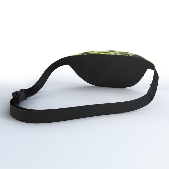 Green Forest Abstract Fanny Pack