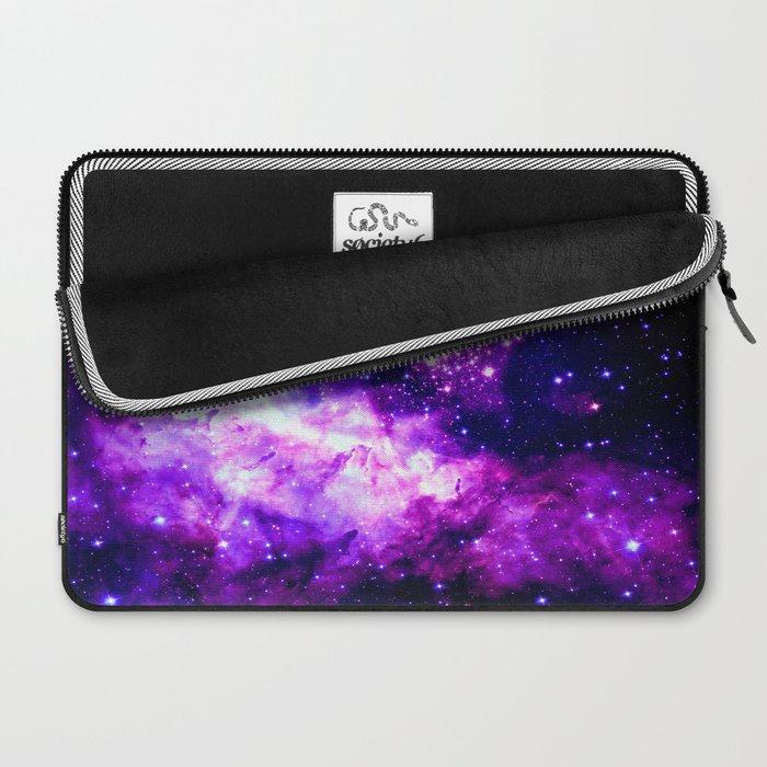 Purple Galaxy : Celestial Fireworks Laptop Sleeve