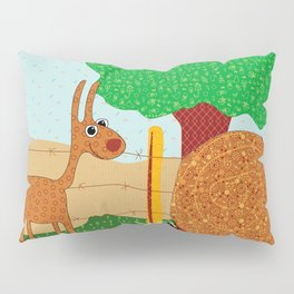 Lunchtime, Yummy Hay! Pillow Sham