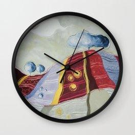 Anche tu sei collina Wall Clock