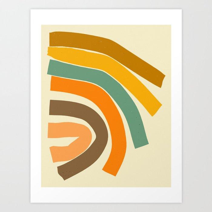BEND (2) Art Print