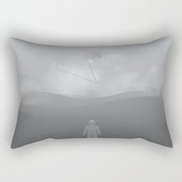 Lost Astronaut Series #04 - Icosa/Bucky Rectangular Pillow