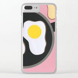 Mr. D'z Breakfast Clear iPhone Case