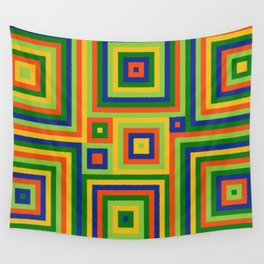 Be Squared! II Wall Tapestry