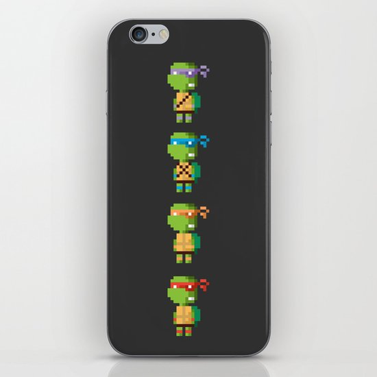Turtle Power iPhone & iPod Skin