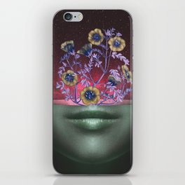 Open Your Mind iPhone Skin