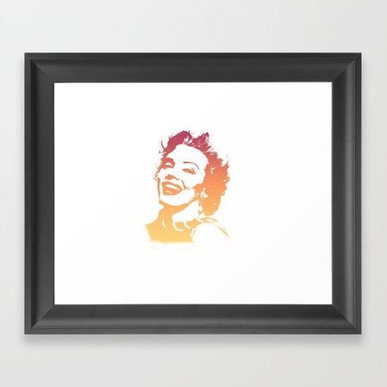 In her glory days Framed Art Print