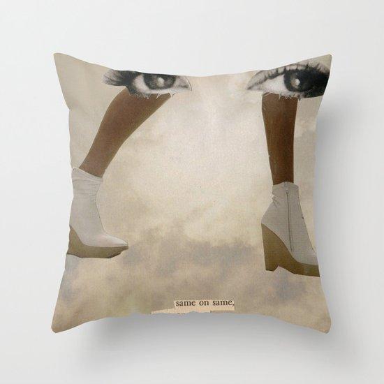 Keep Forward Throw Pillow
