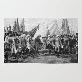 The Surrender Of Cornwallis At Yorktown Rug