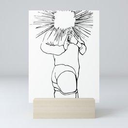 Adult Diversion Mini Art Print