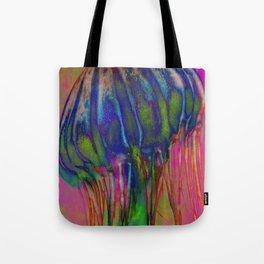 Electric Jellyfish Tote Bag
