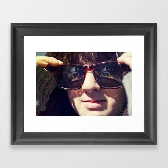 New in Town Framed Art Print