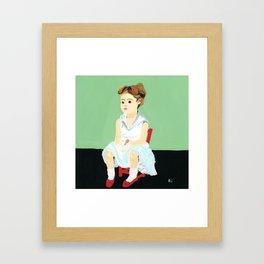 Song of ice cream Framed Art Print