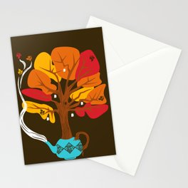 Tea Leaves Stationery Cards