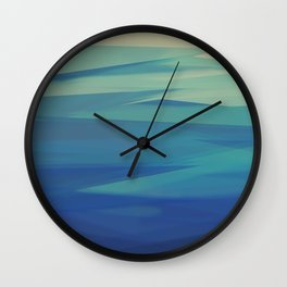 Elements - Water Wall Clock