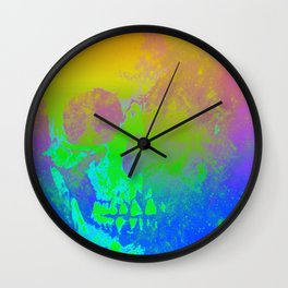 Skull/Star II Wall Clock