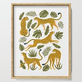 Leopard pattern Serving Tray