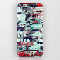 Glitch Decon 3 iPhone & iPod Skin