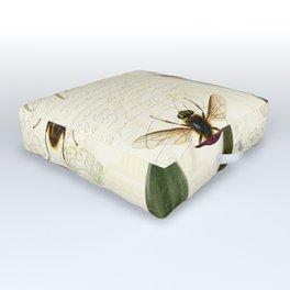 Natural History Sketchbook I Outdoor Floor Cushion