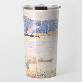 Cap Nègre by Henri-Edmond Cross 1909, French Travel Mug