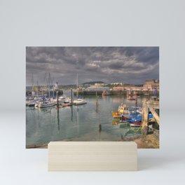 Harbour Scarborough Mini Art Print