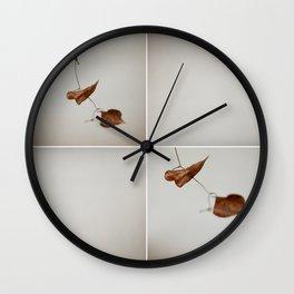 Leaf Dance 001 Wall Clock