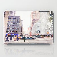 nyc iPad Cases featuring NYC by Christine Workman