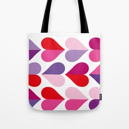 Love and Kisses in Ultra Violet Tote Bag