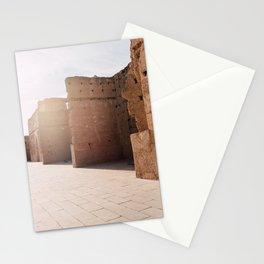 Palais el Badi | Marocco travel photography art print Stationery Cards