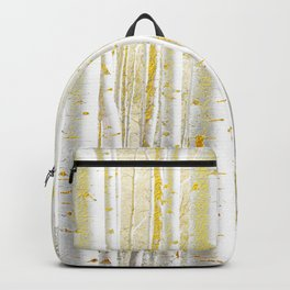 Gold Birch Forest Backpack